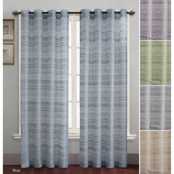 Bryce Grommet Style Curtain Panel Overstock™ Shopping Great