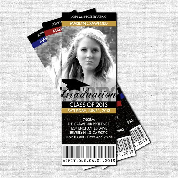 Personalized Graduation Invitations 2017