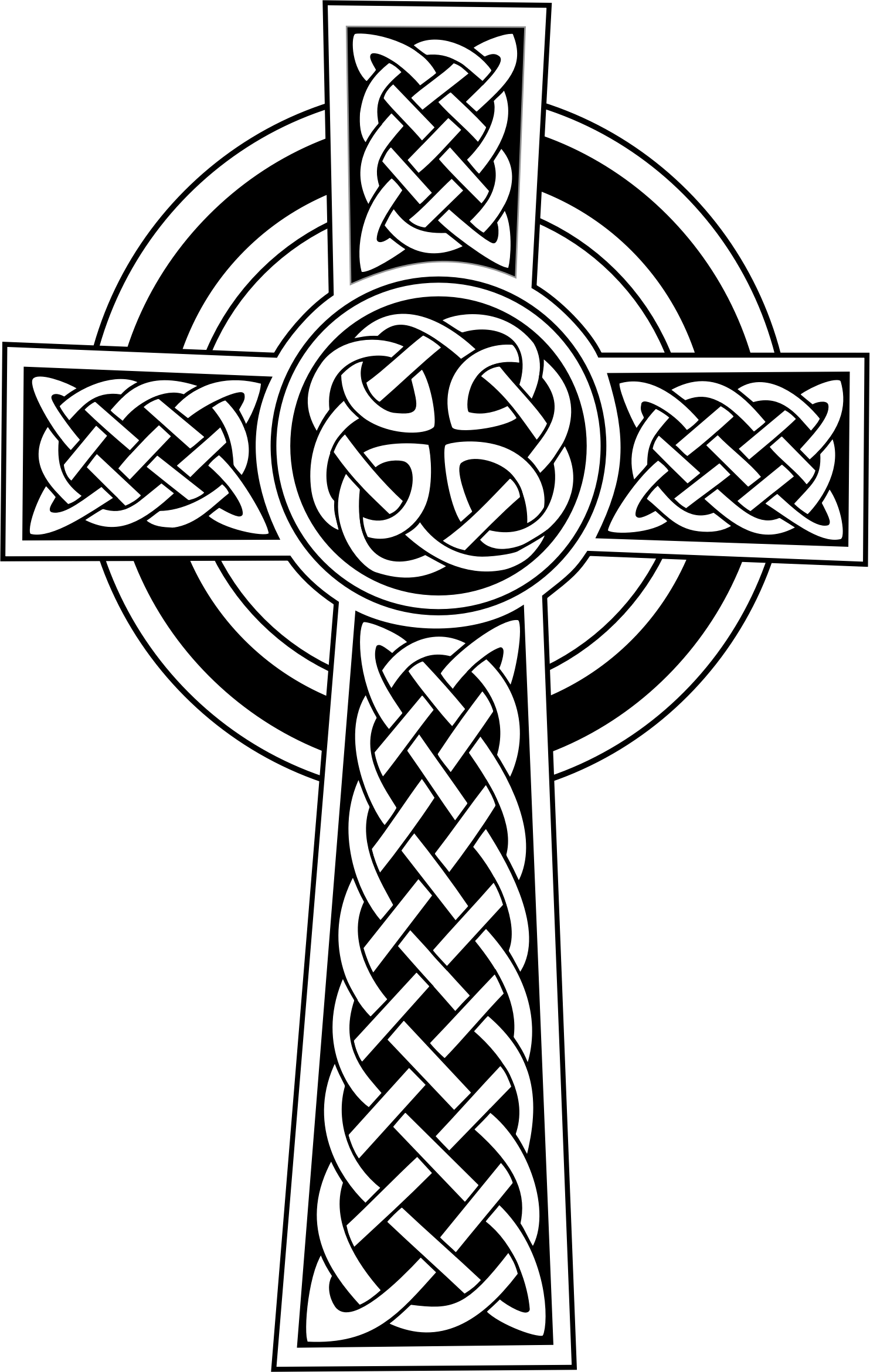 Celtic Cross By Gdj S Commonsmedia Wiki