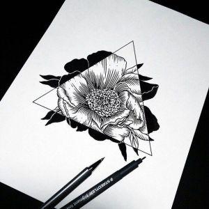flower drawing pretty drawings easy sketch