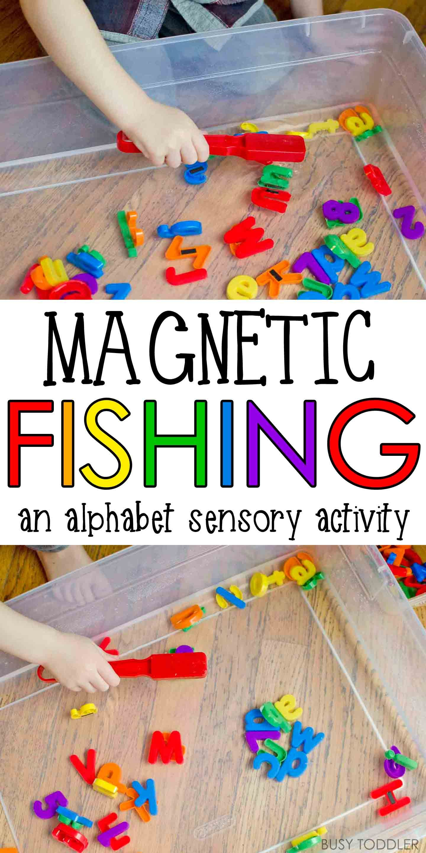 Magnetic Alphabet Fishing