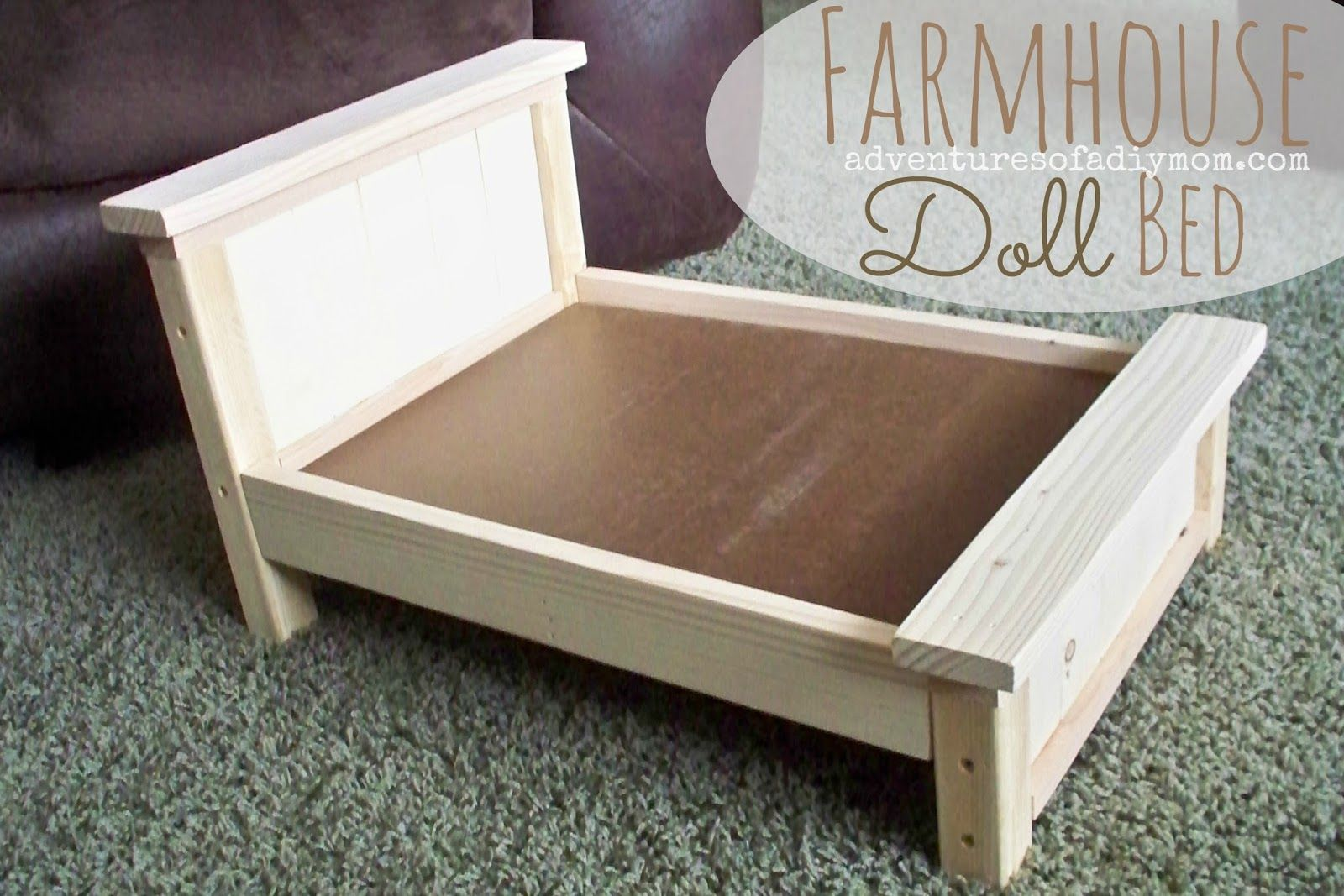 18 doll sofa diy leather manufacturers blackburn farmhouse bed for american girl dolls beds