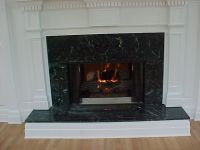 marble fireplace surrounds | Verde Green Marble Fireplace ...