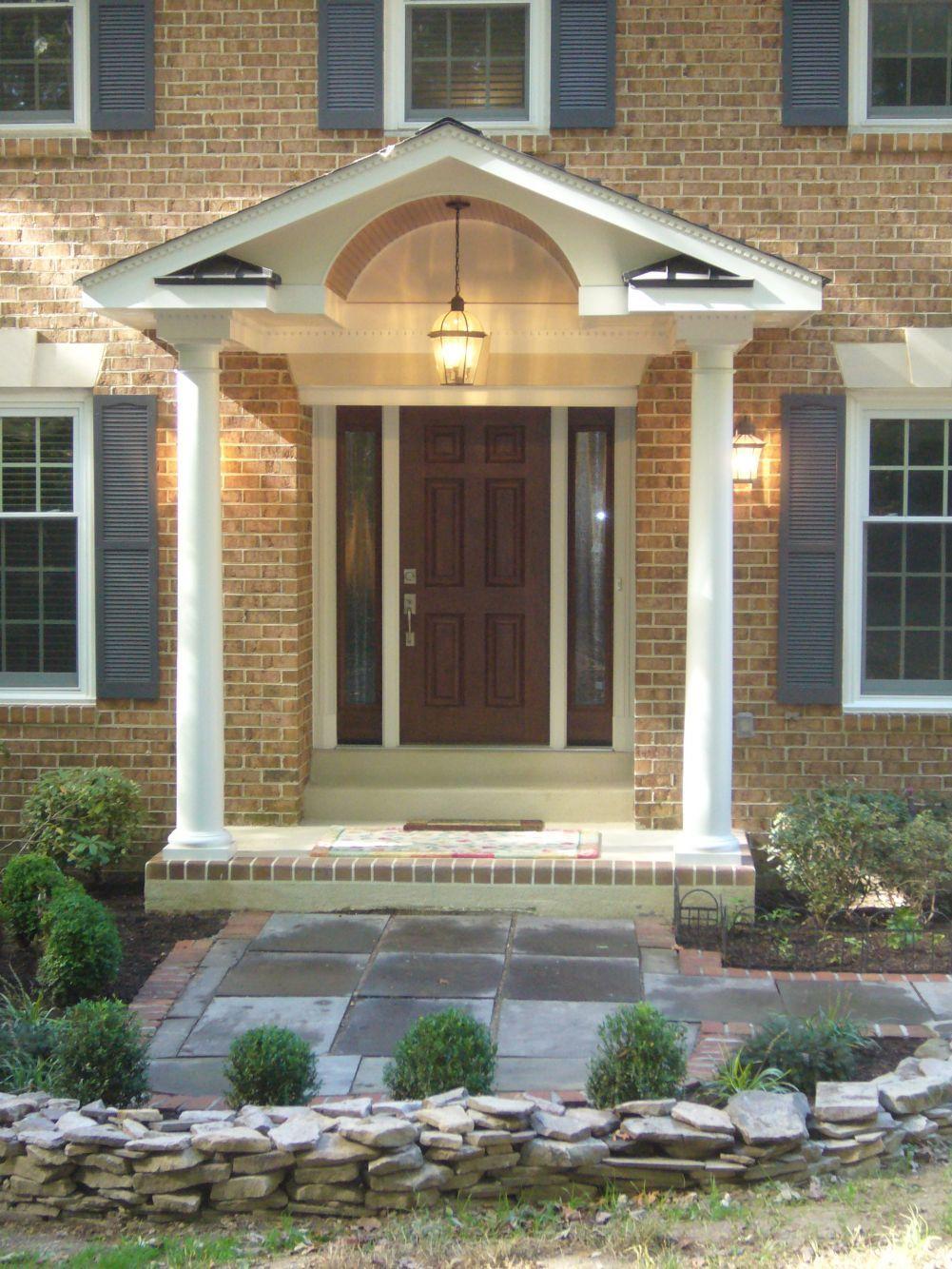 remodeling front door entryway