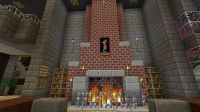 Minecraft Castle Blueprints | Fireplace. | Minecraft Ideas ...