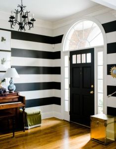 Osez les rayures sur murs also room color schemes interiors and rh pinterest