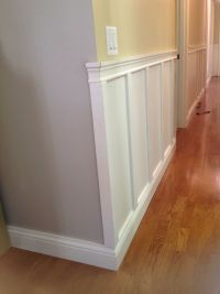 ending wainscoting outside corner - Google Search ...