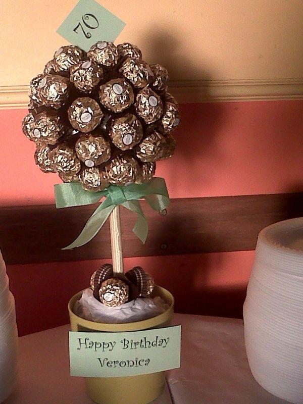 Ferrero Rocher Tree 70th Birthday Party
