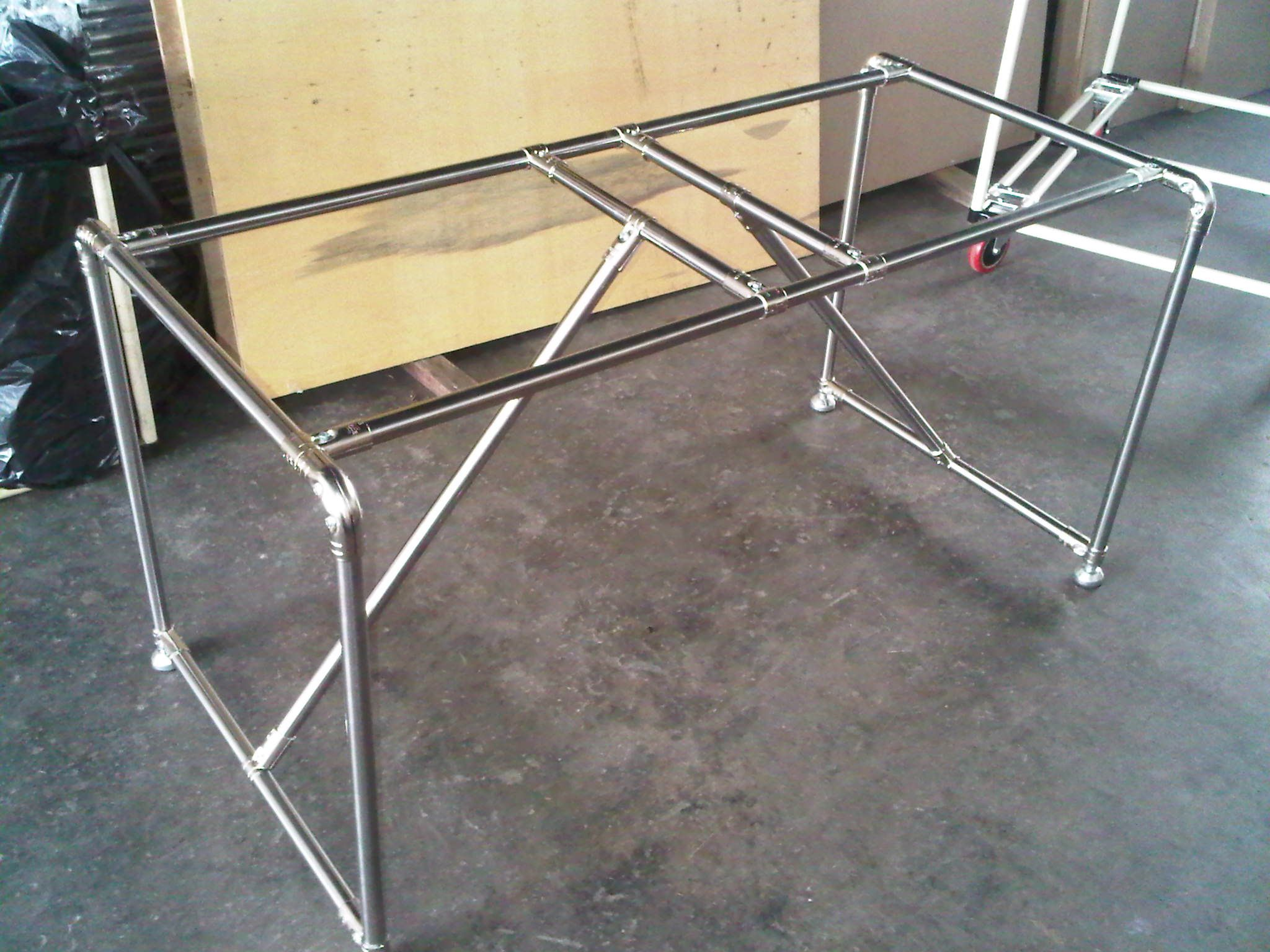 steel chair joints papasan frame canada diy dining table pipe and joint furniture malaysia