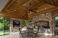 Outdoor patio living room. Great for entertaining with a ...