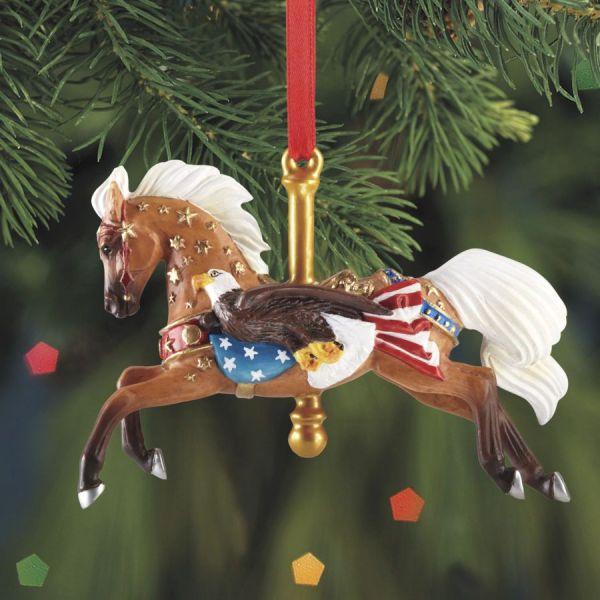 Breyer Patriot Carousel Horse Ornament 2013 Carousels 2