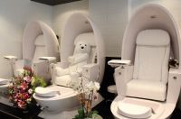 Nail Salon Furniture | Nunu will blog for chicken wings ...