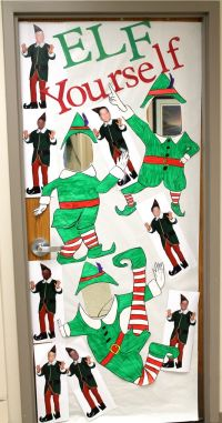 Elf Yourself Insert your face picture board