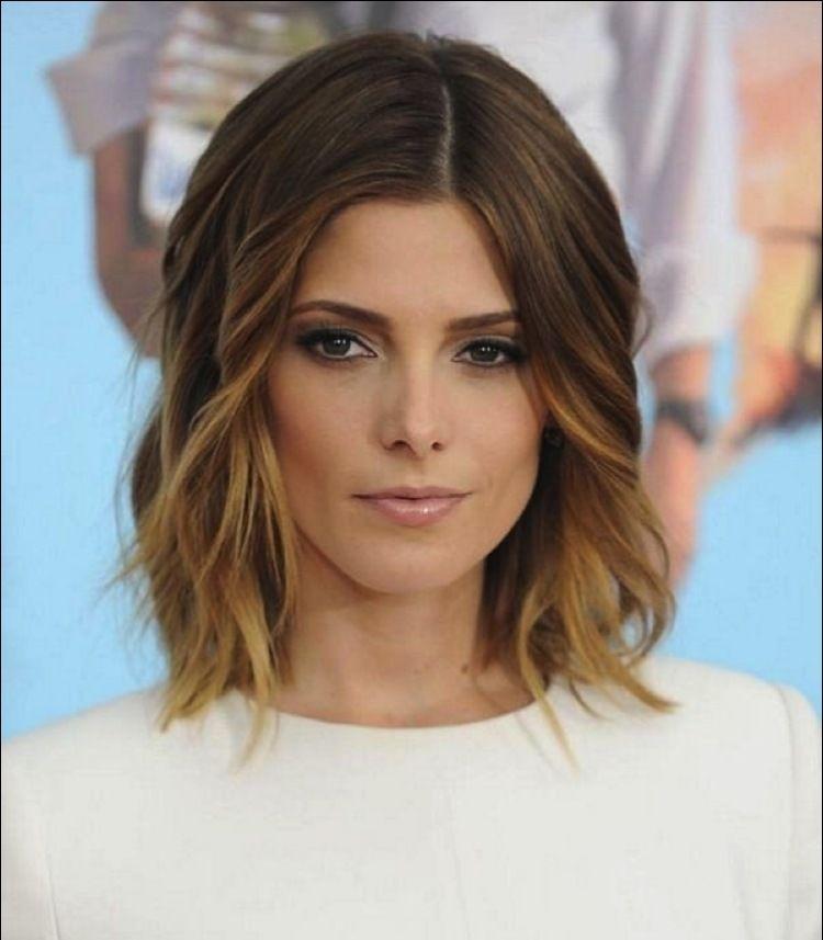 Lob Haarschnitt Und Aufgehellte Spitzen Mehr Haare Und Beauty