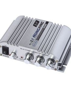 Hongxing ax hi fi ch stereo audio amplifier amp super bass hx  with ac power adapter sliver home theater also rh pinterest