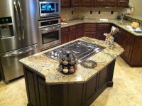 island with cooktop | Kitchen island gas cooktop | Gibson ...