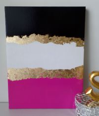 Kate Spade decoration inspired, dorm, Acrylic Canvas ...