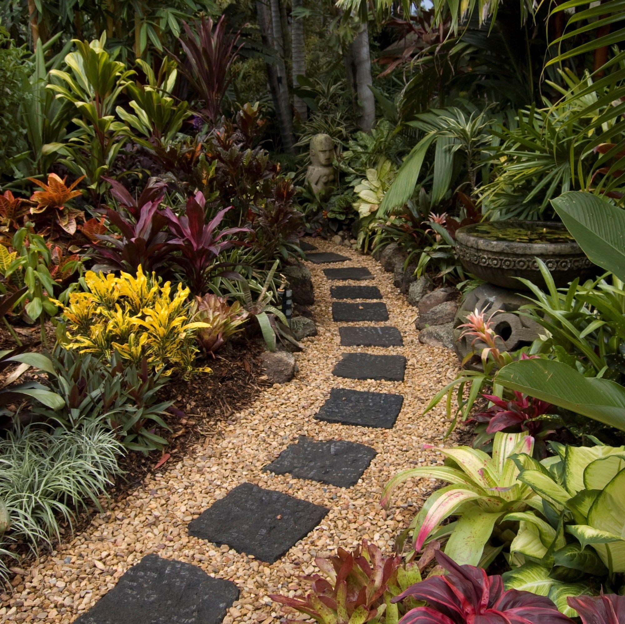 Path Gardening Ideas Paver Path Garden Ideas Inspiration