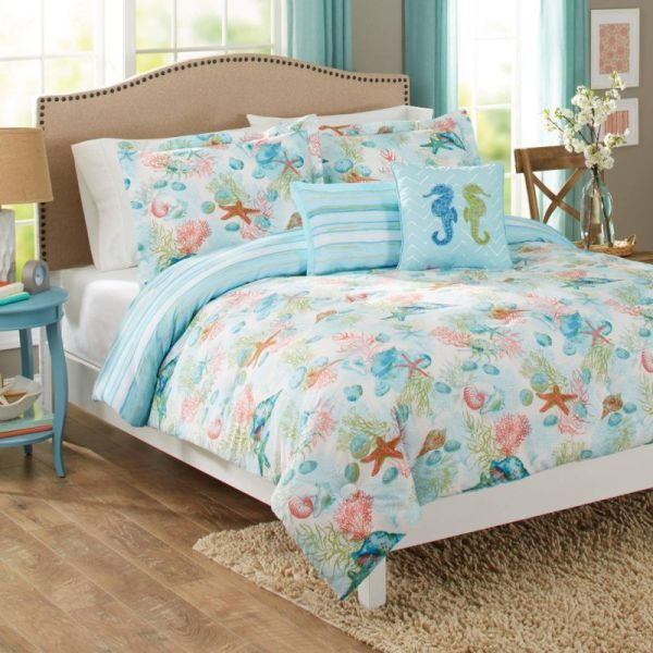 Nautical Beach Bedding Sets Comforters