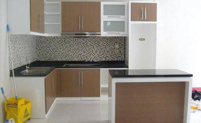 Gambar Kitchen Set Kecil Keren Dapur Minimalis Idaman