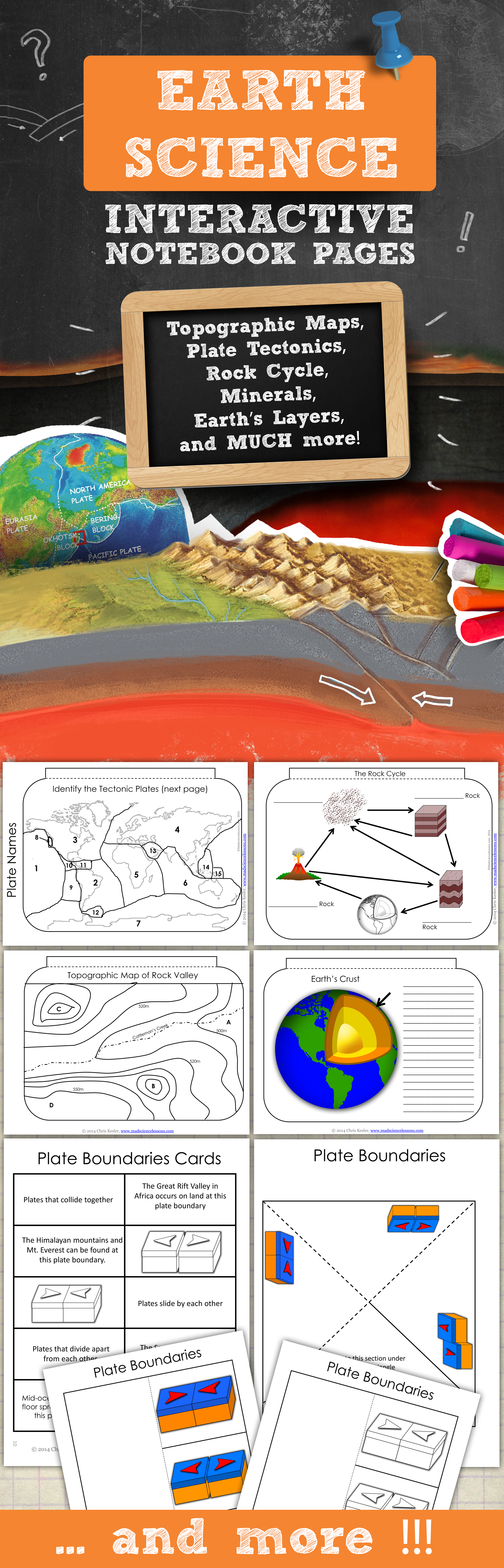 Earth Science Interactive Notebook Pages