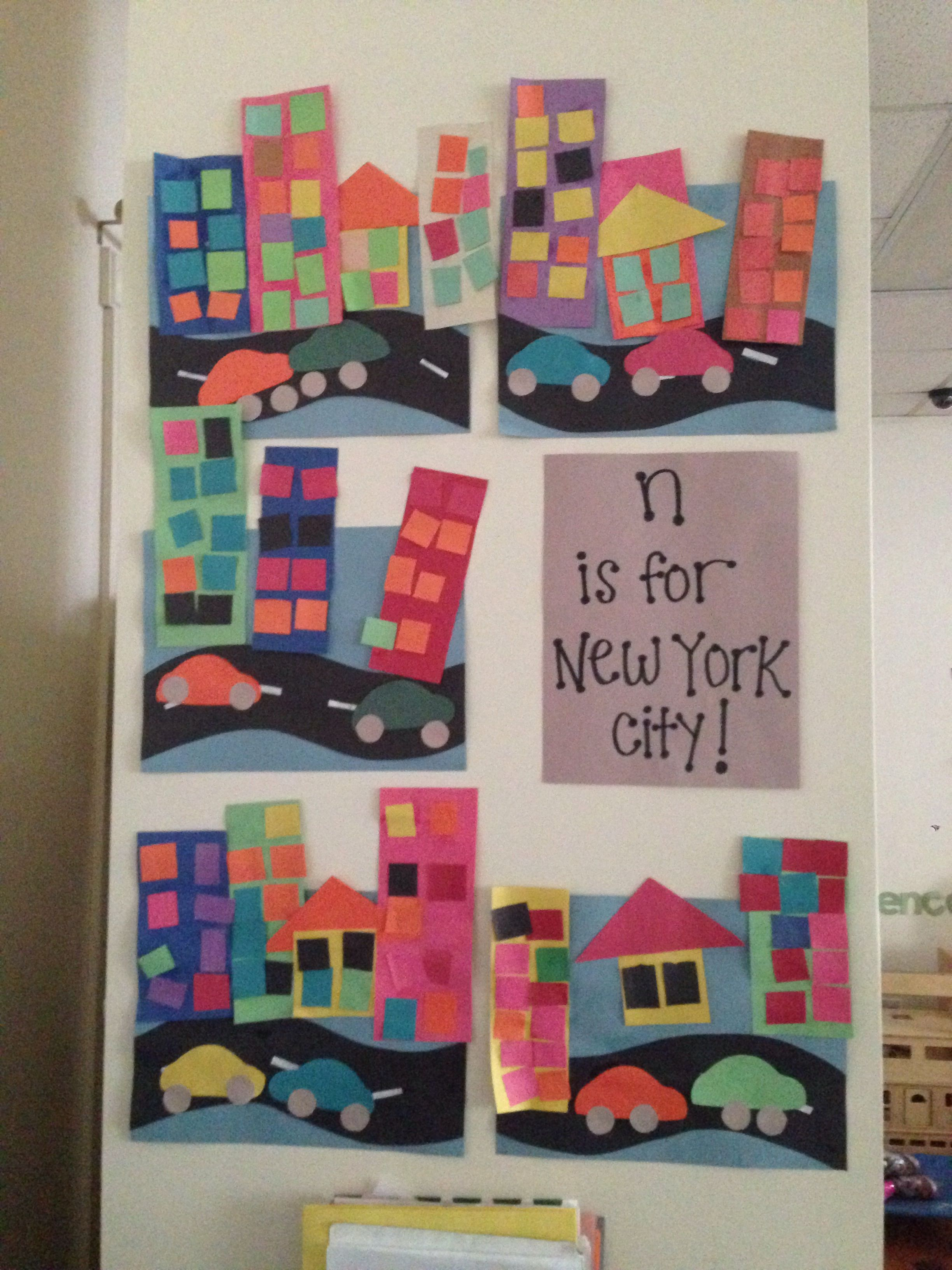 N Is For New York City