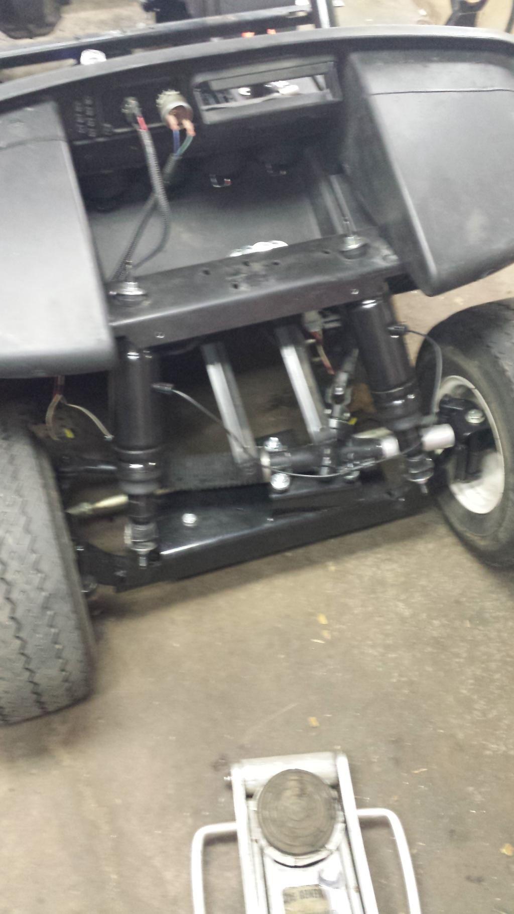 94 Club Car Golf Cart Wiring Diagram 06 Ezgo Build Air Ride Custom Dash Tv And Much More