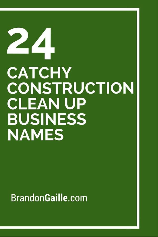 Best 25 Cleaning Company Names Ideas On Pinterest - MVlC