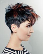 groovy short punk hairstyles