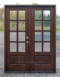 (multiple sizes), mahogany french doors exterior 8-lite ...
