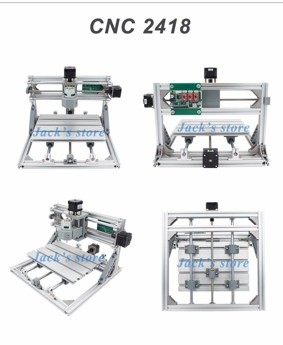 cnc 2418 + 2500mw laser,cnc engraving machine,Pcb Milling
