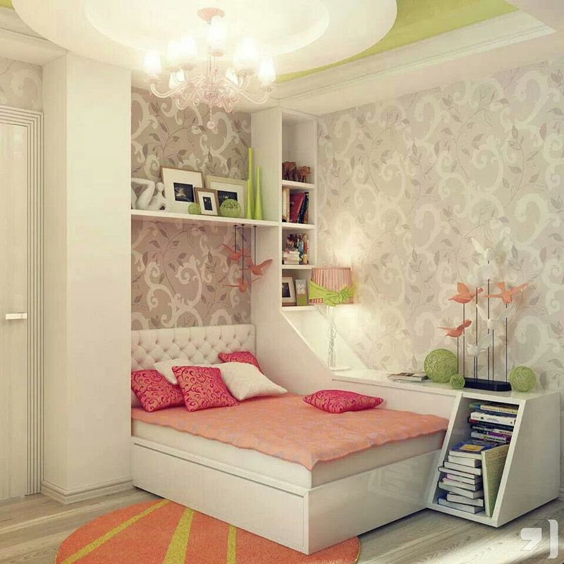 Room Designs For Girls Green