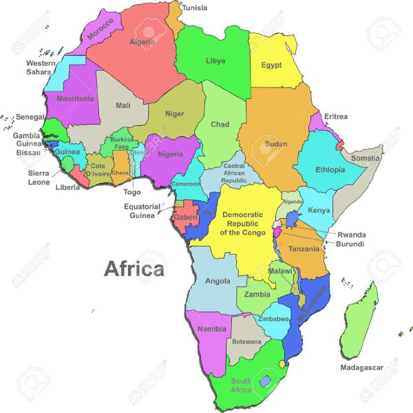 countries of AFRICA MAP Google Search Around The World