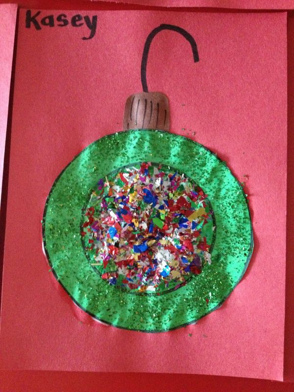 """"" Ornament. Preschool Art In 3"