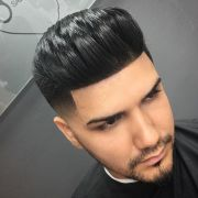 hairstyles 50's fade