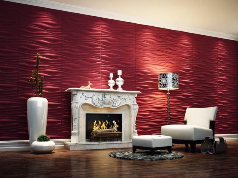 title   Red 3d Wallpaper For Wall Basement