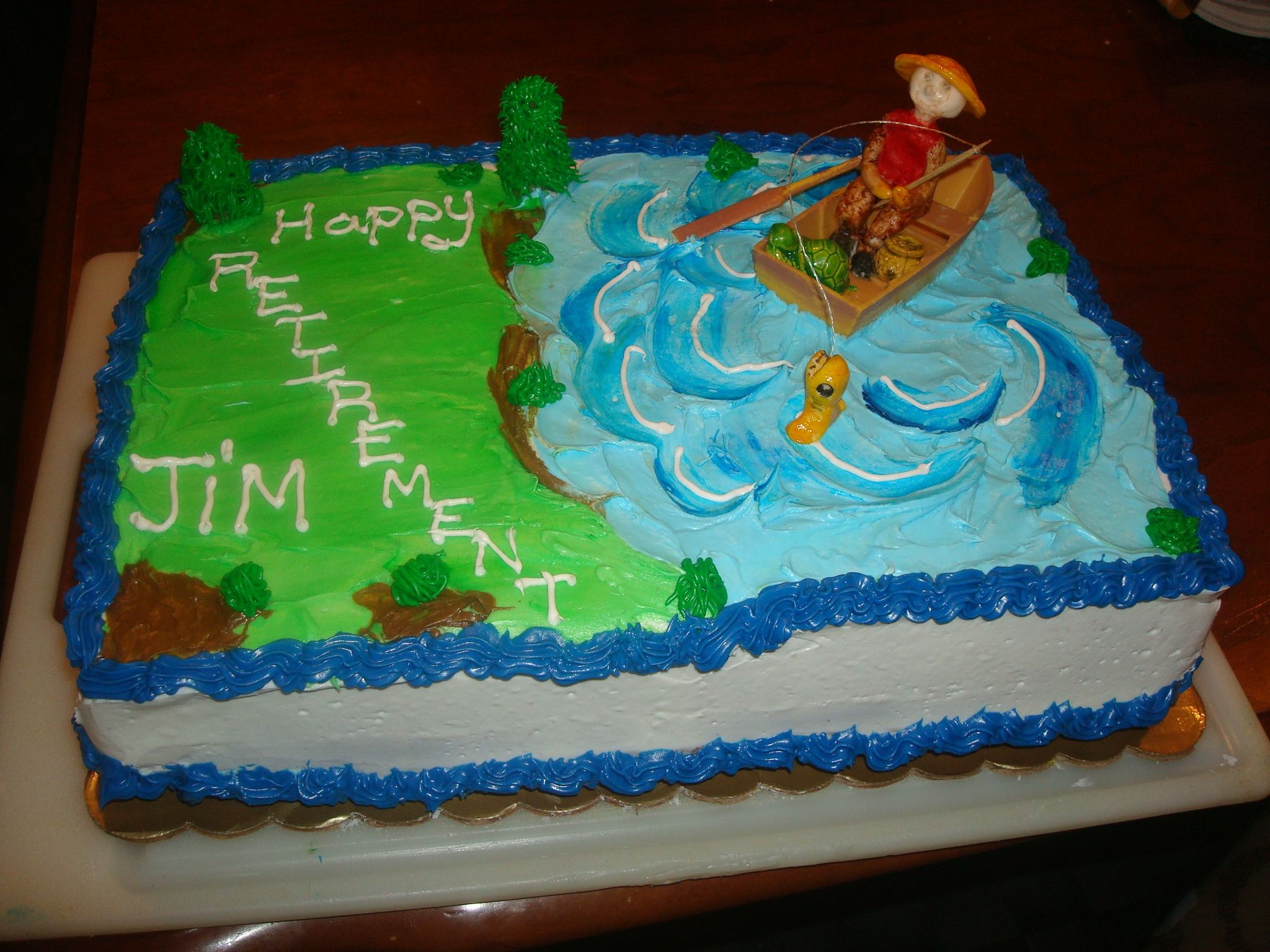 Retirement Cake Theme