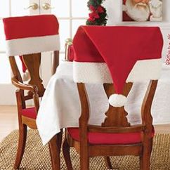 Christmas Chair Covers Pinterest Discontinued Dining Room Chairs Santa S Hat Set Of 2 Navidad