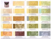 faux finish paint chart