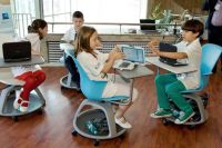 The future classroom introduced at the National Education ...
