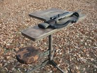 DOA Portable Shooting Bench | Metal projects | Pinterest ...