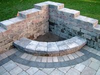 Diy Stone Fire Pit Architecture Furniture Interior Corner ...