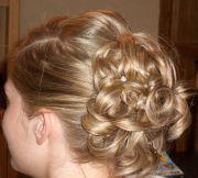 bridesmaid hairstyles thin
