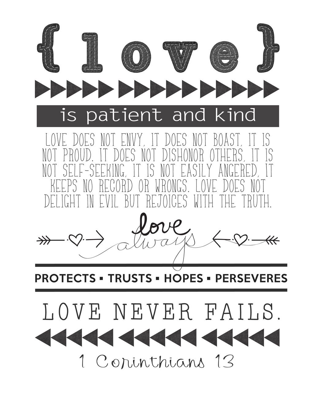 1 Corinthians 13 Reminder Of How By These Traits We Show Gods Love To Others Affect
