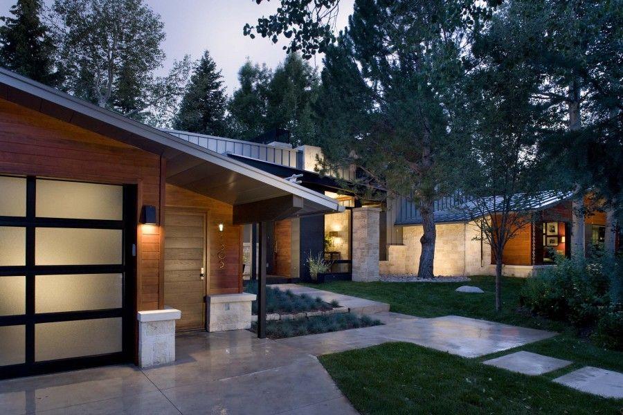 Modern Contemporary Ranch House Plans Zoeroad Com Modern