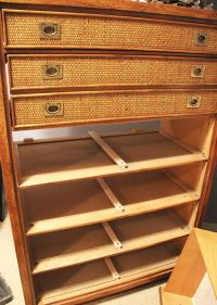 MCM Dresser Rescue with new hardware and drawer slides ...
