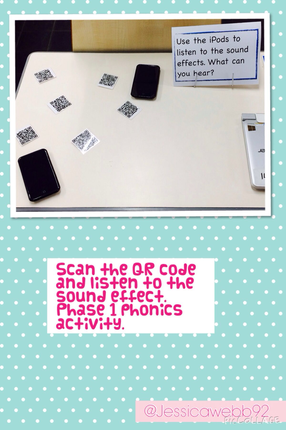 Scan The Qr Code And Listen To The Sound Effect Phase 1 Phonics Activity
