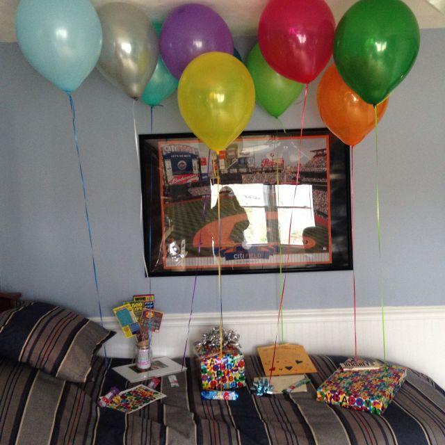 Boyfriends birthday surprise ideas pinterest