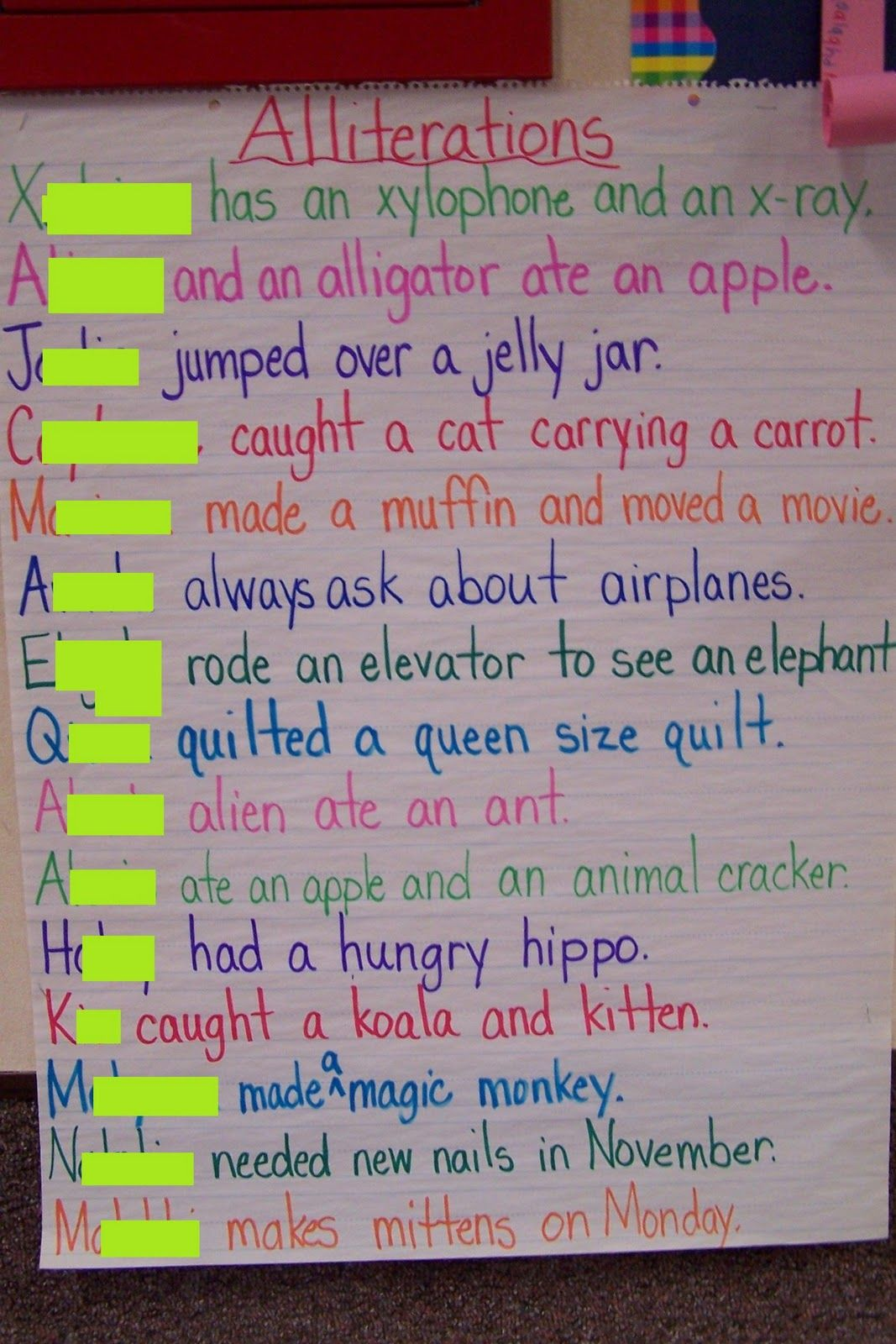 Fox In Socks Extension Activity Students Create Their Own Tongue Twisters Using The First