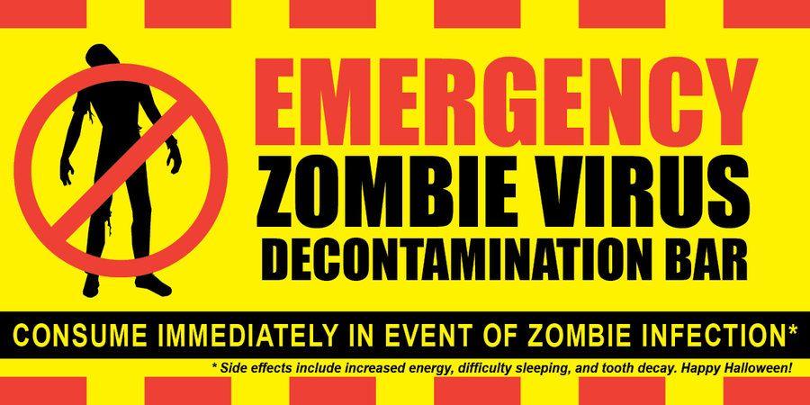 Zombie Apocalypse Survival Kit Symbol